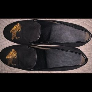 Men's Saks Fifth Avenue Tiger Loafers
